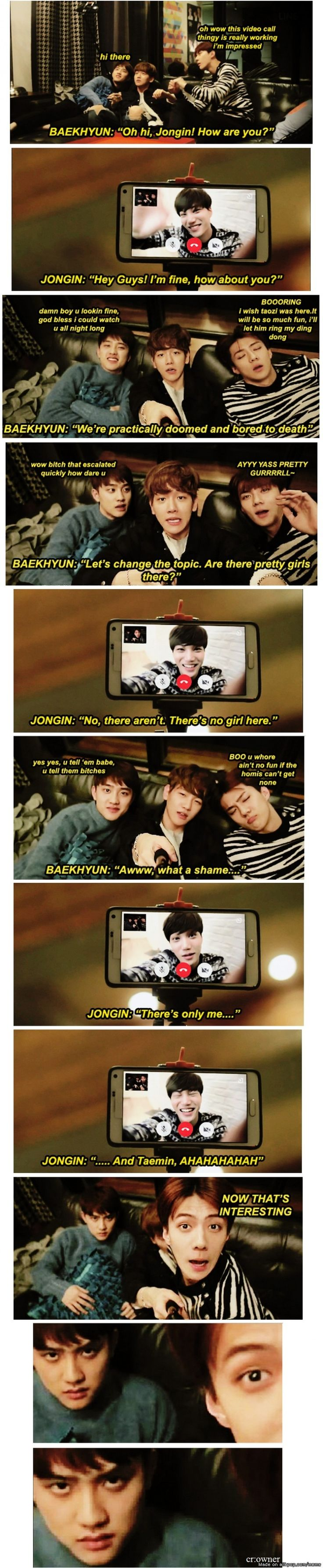 Kai and Kyungsoo = KaiSoo, there's no room for any others in Kyungsoo's world. xD