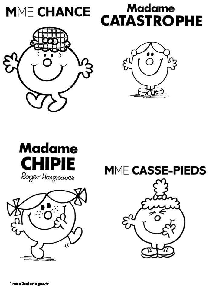 Monsieur Madame 2 4 Monsieurs Madames Réunis Dans Un Coloriage