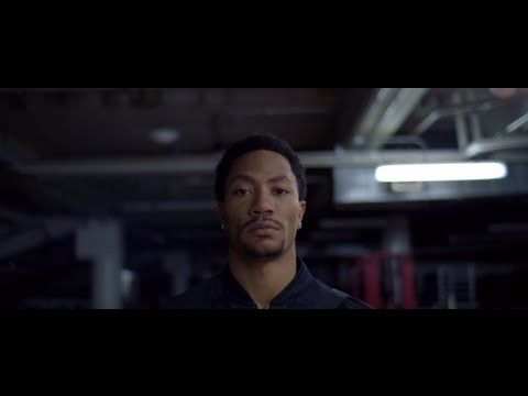 D. Rose providing some voiceover and insight on coming up + unused shots from the spot. This is where the bar is set POWERADE | Just a Kid from Chicago #justakid