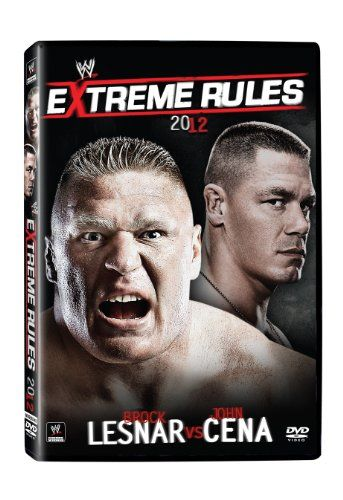 WWE: Extreme Rules 2012 DVD