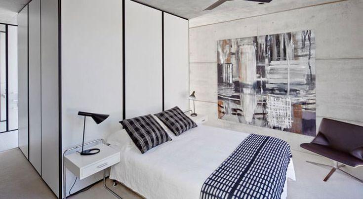 Idee per arredare la camera da letto in bianco e nero n. 31