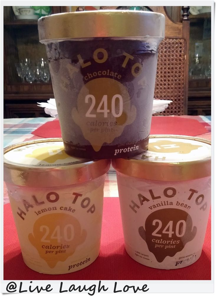 Live, Laugh, Love: Halo Top Review