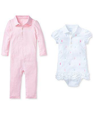 9fa8d2f48 Polo Ralph Lauren Ralph Lauren Baby Girls Polo Twice as Nice Ensemble -  Sets & Outfits - Kids - Macy's
