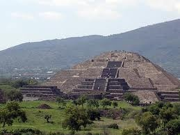 Aztec Pyramids in Mexico