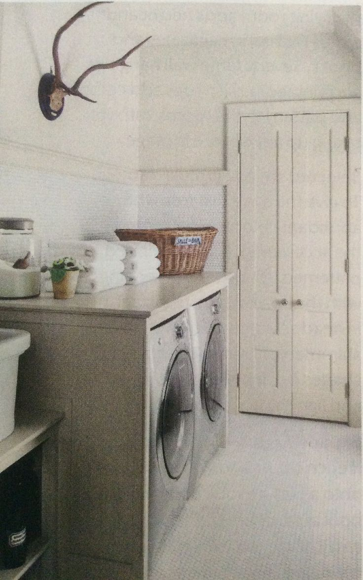 Laundry room, Jeannette Whitson via Southern Living