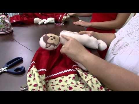 11/09/2014 Boneca 3 em 1 (chapeuzinho vermelho, vovó e lobo mau) – Vivi Prado | RS21