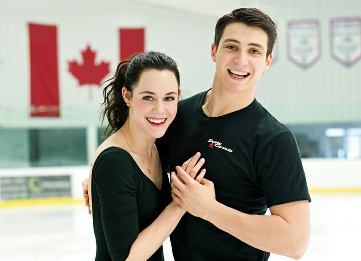 Canadian Olympic gold medal ice dancers Tessa Virtue and Scott Moir - January 2012 - my favourite athletes!