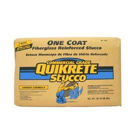 QUIKRETE One Coat 80-lb Premixed Finish Coat Stucco Mix