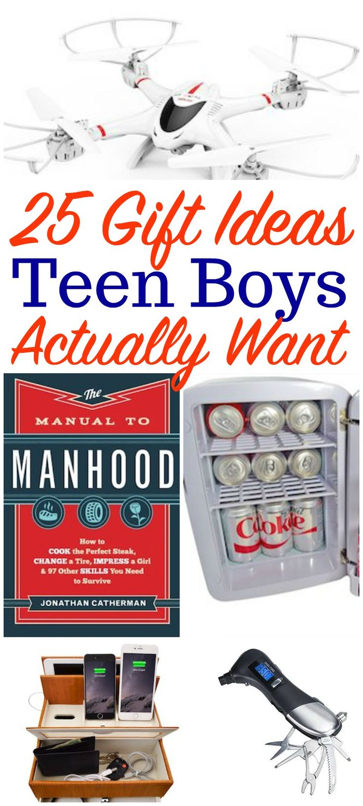 Wondering what to buy your teen boy?  These are perfect teen boy gift ideas! #GiftIdeas #giftguide #teengifts #teenboygiftideas