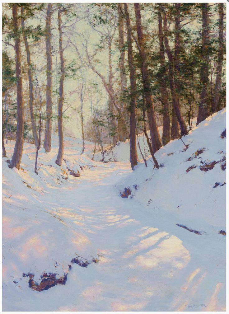 Winter Shadows. Walter Launt Palmer.