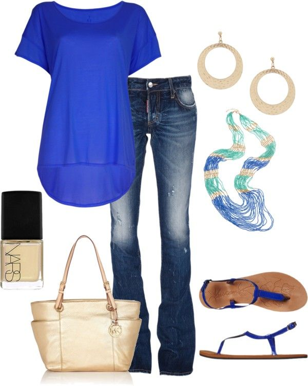 """Summer Time"" by honeybee20 on Polyvore"