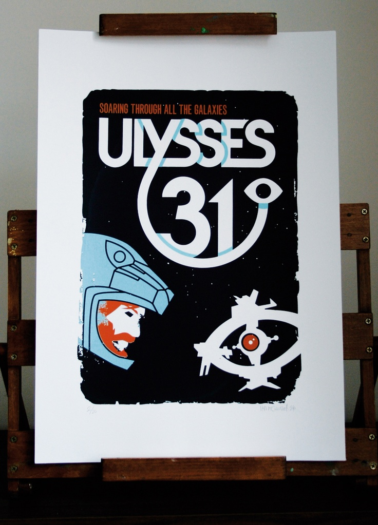 Ulysses 31 Screenprint