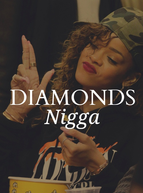 Girls Swag Tumblr Rihanna Diamonds Gangsta Girl Rihanna
