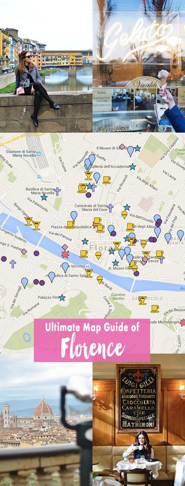History In High Heels: History in High Heel's (Ultimate) Florence Map Guide