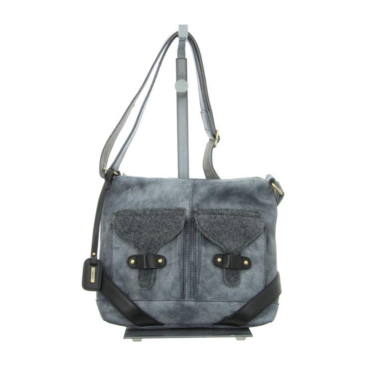 NEU: Rieker Handtaschen H1440-14 - grau kombi -