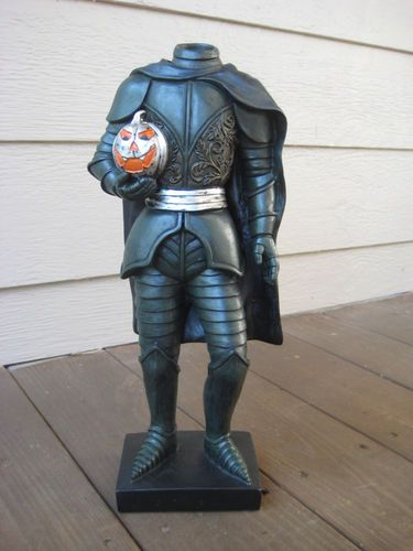 for sale: New Legend of Sleepy Hollow Headless Horseman Resin Statue Halloween Hessian | eBay
