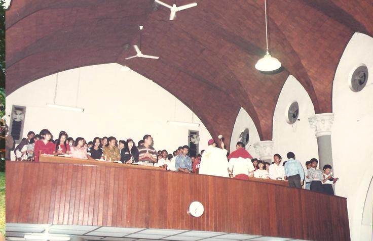 Balon Gereja Katedral tahun 1995