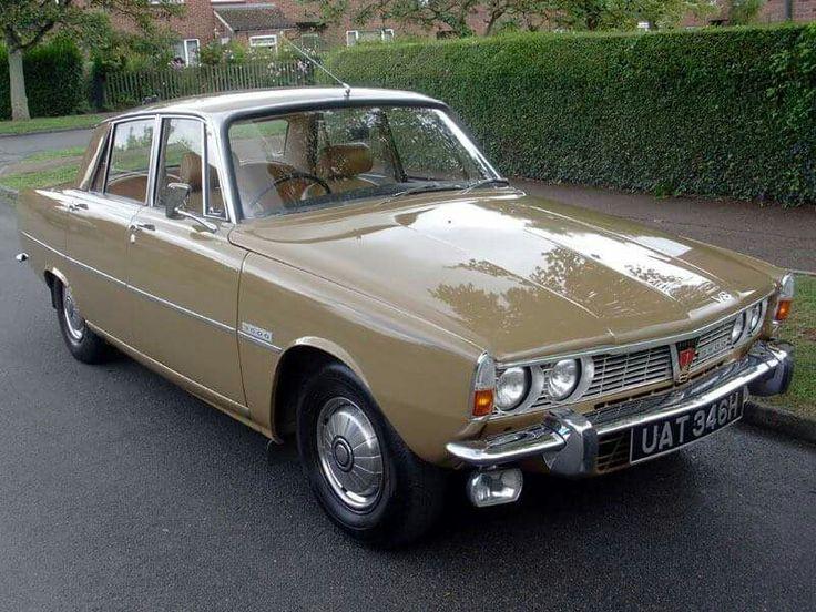 1968, Rover P6 3500 V8 MkI.