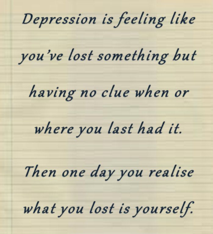 What's the point of my life I'm depressed?