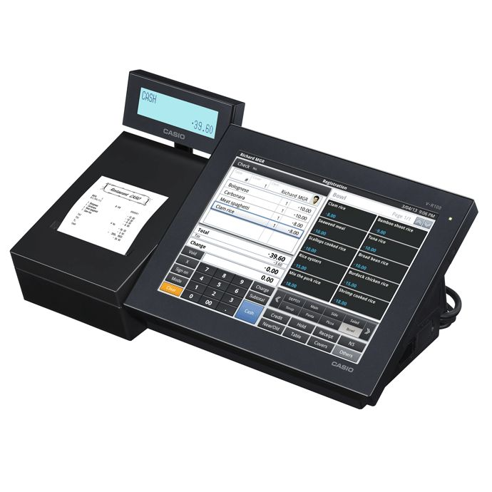 CASIO VR200 TOUCH SCREEN POS TERMINAL