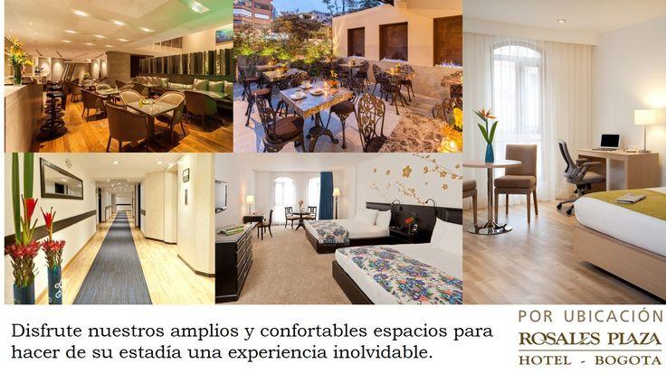 PBX:(57)(1)3171100 reservas@hotelrosalesplaza.com (57)(1)3215917
