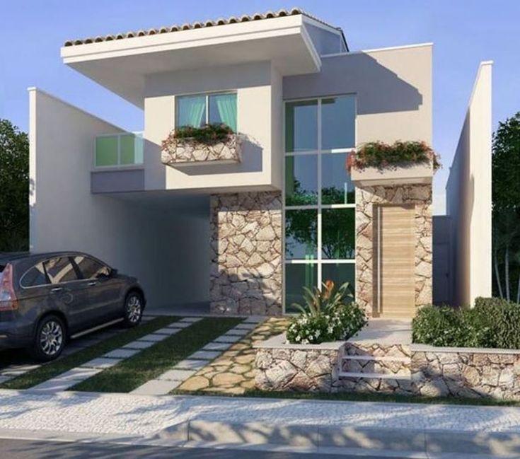 Fachadas De Casas Sencillas #casasminimalistaschicas #casaspequeñasminimalistas #modelosdecasasfachadas