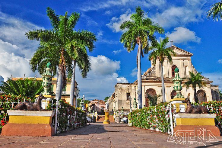 Trinidad, de 500 jaar oude stad met Spaanse architectuur prijkt sinds 1988 terecht op de Unesco Werelderfgoedlijst
