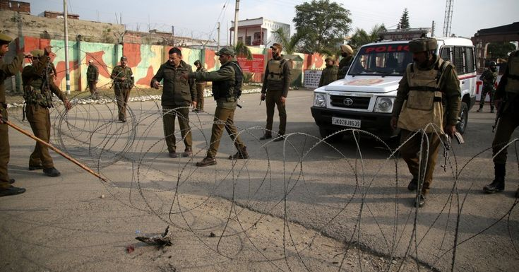 #MONSTASQUADD Militants Storm Indian Army Base, Killing Soldiers and a Civilian