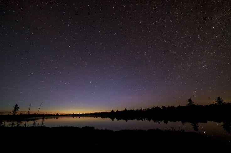 Torrance Barrens Dark Sky Preserve - Torrance Barrens in Ontario, Canada.