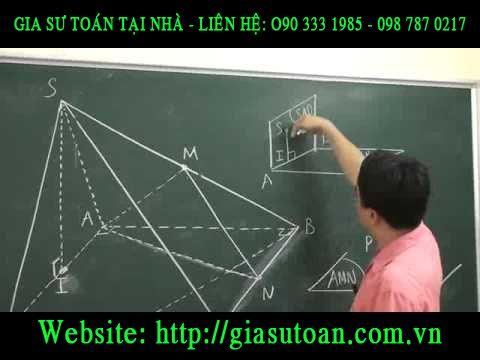 Bí quyết giải toán hình học không gian