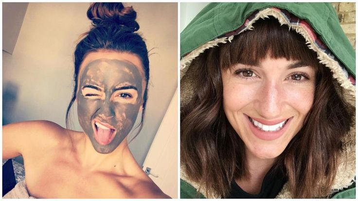 "Don't believe us? See for yourself!   Rosie Jones, a model, says Alaska Glacial Mud is a must-have before important shoots. In her words, ""I might look crazy, but it works wonders!"" See Rosie Jones' before & after Alaska Glacial Mud results"
