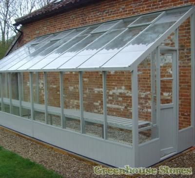 Swallow Dove 6x20 Lean to Greenhouse