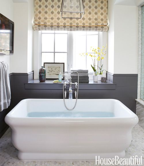 deep soaking tub.  Parrish Chilcoat & Joe Lucas design.