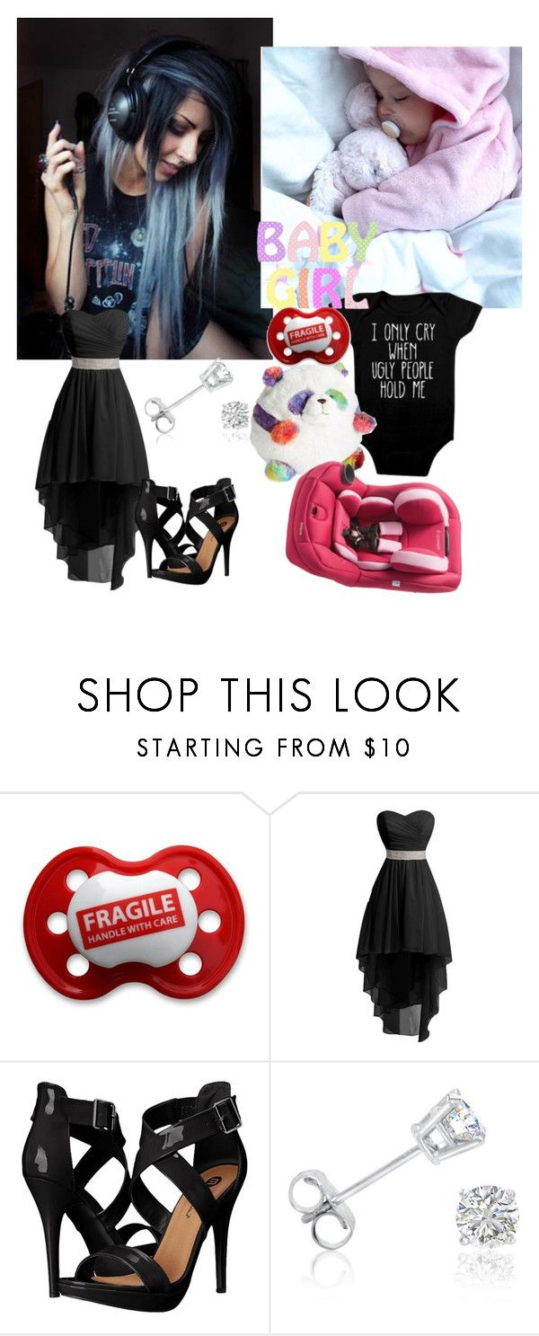 """Single mother -Arianna Unique and Stephanie"" by to-crazy-for-you-now-backup ❤ liked on Polyvore featuring Maxi-Cosi, Michael Antonio and Amanda Rose Collection"