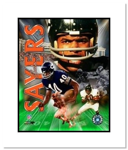 |   Chicago  NFL Double Matted 8x10 Photograph Legends ...