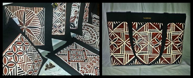 """Tapa """"Mighty Fine"""" Throw Cushions & Table Runners..... And a stunningly unique bag!!!!!....... In Store Now at Plantation House Samoa. #Barkcloth #OceanicDesign #IslandLiving #TropicalHomeware"""