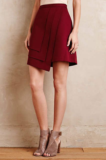 Layered Wrap Skirt - anthropologie.com