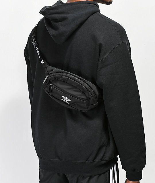 562b994a5ad1c adidas Originals National Black Fanny Pack