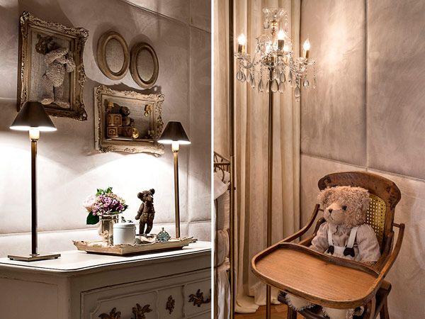 Decoração quarto de bebê clássico elegante -  urso (Foto: Jomar Bragança)