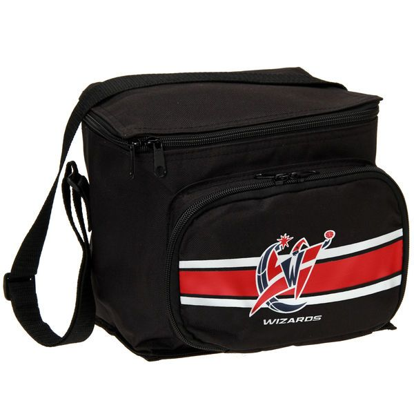 Washington Wizards Sideline Front Zip Lunch Cooler - Black - $7.99