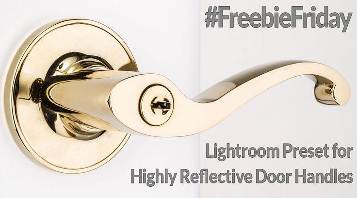 Lightroom Preset for Highly Reflective Door Handles