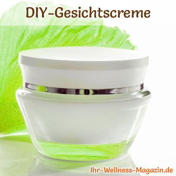 DIY-Rezept für eine Creme für empfindliche Haut - wirkt beruhigend und reizlindernd