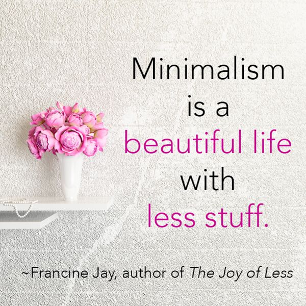 13 best minimalist inspiration images on pinterest for Minimalist living with less stuff