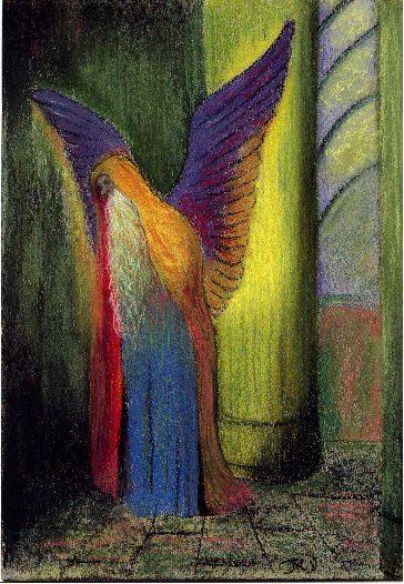Odilon Redon :  Angel