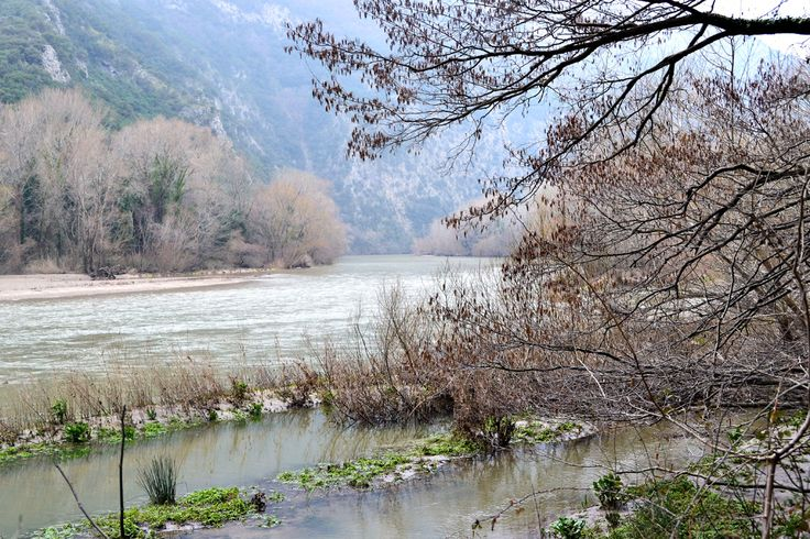 The Nestos River Straits, Xanthi, Greece http://agreekadventure.com/hiking/the-nestos-river-straits-13444