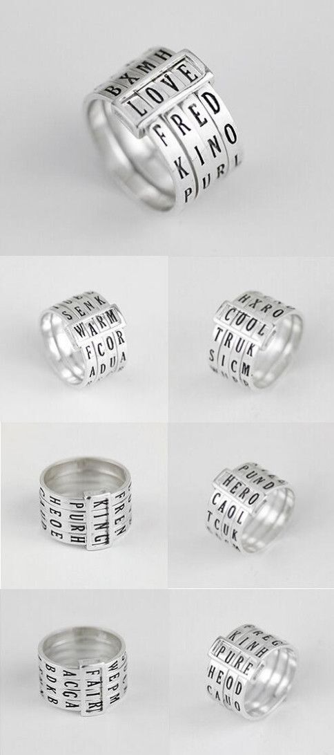 unique awesome secret decoder band ring in sterling silver http://www.jewelsin.com/p-unique-design-secret-decoder-925-sterling-silver-ring-band-1110