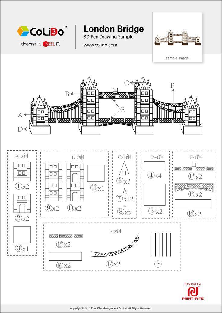 Image Result For 3d Pen Design Templates 3d Drawing Pen 3d Pen 3d Pen Art