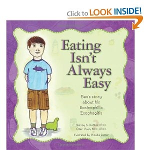 Eating Isn't Always Easy: Ben's story about his Eosinophilic EsophagitisAmazon Com, Autoimmune Disease, Ben Stories, Allergies Free, Eosinophilic Esophageal, Food Allergies, Kids Book, Children Books, Allergies Book