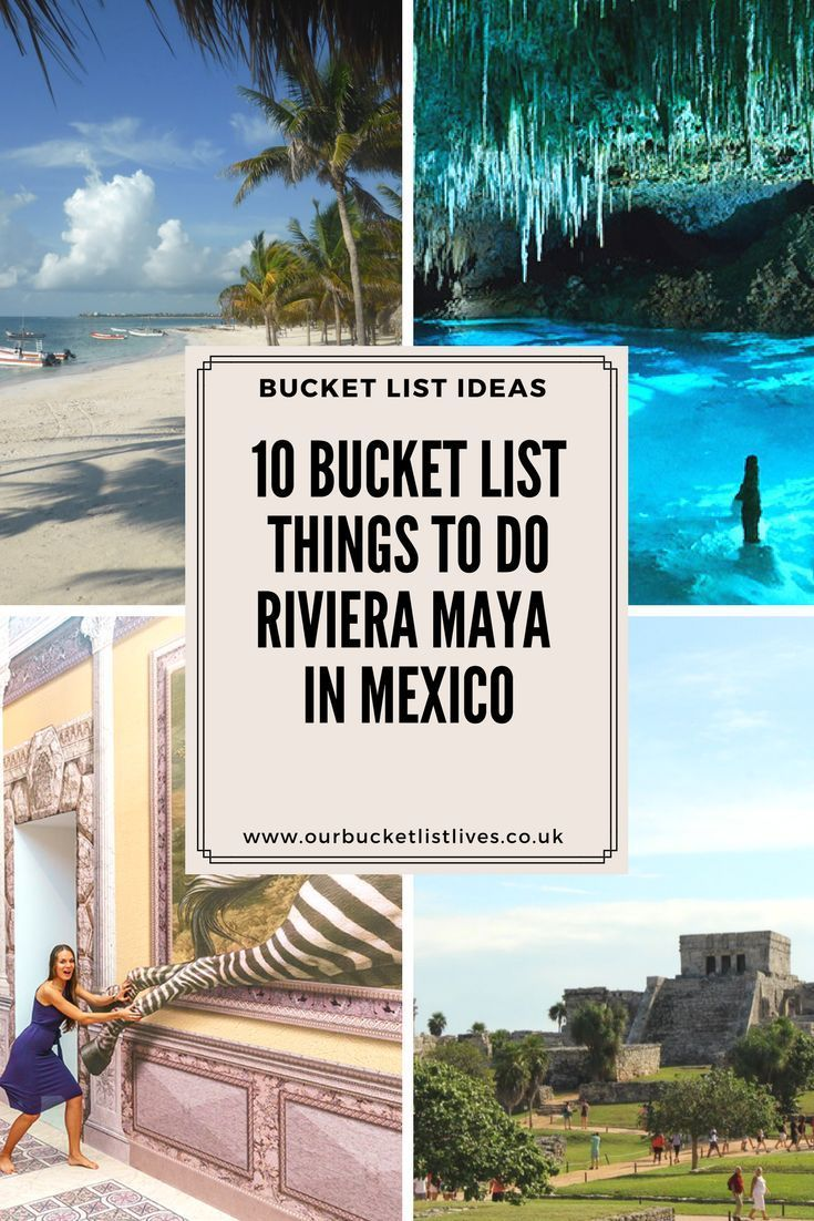 10 Bucket Record Issues to do Riviera Maya in Mexico