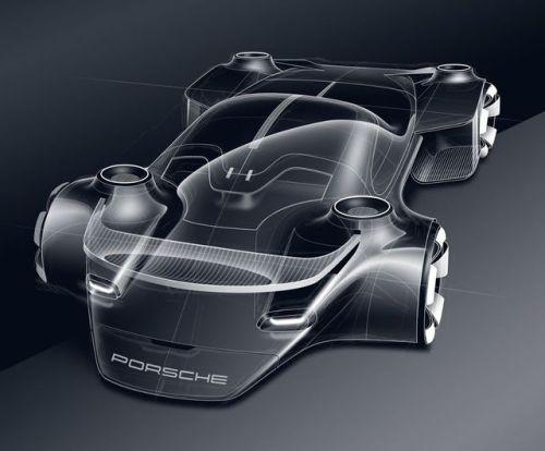 Gashetka | Transportation Design | 2018 | Porsche 911 Hommage | Design by Jean Hiss